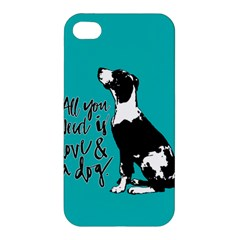 Dog person Apple iPhone 4/4S Premium Hardshell Case