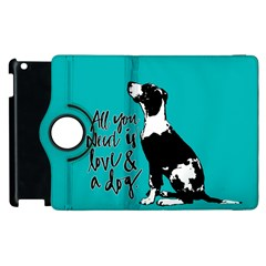 Dog person Apple iPad 3/4 Flip 360 Case