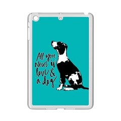 Dog person iPad Mini 2 Enamel Coated Cases