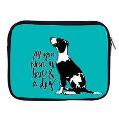Dog person Apple iPad 2/3/4 Zipper Cases