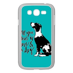 Dog person Samsung Galaxy Grand DUOS I9082 Case (White)