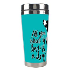 Dog person Stainless Steel Travel Tumblers