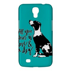 Dog person Samsung Galaxy Mega 6.3  I9200 Hardshell Case