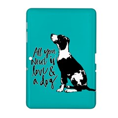 Dog person Samsung Galaxy Tab 2 (10.1 ) P5100 Hardshell Case