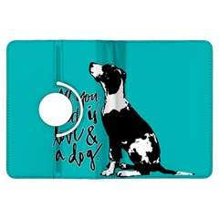 Dog person Kindle Fire HDX Flip 360 Case