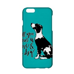 Dog person Apple iPhone 6/6S Hardshell Case