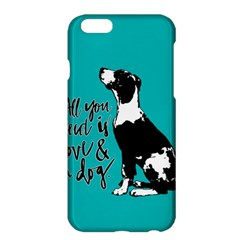 Dog person Apple iPhone 6 Plus/6S Plus Hardshell Case