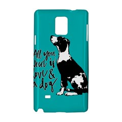 Dog person Samsung Galaxy Note 4 Hardshell Case