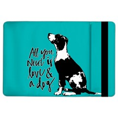 Dog person iPad Air 2 Flip