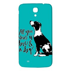 Dog person Samsung Galaxy Mega I9200 Hardshell Back Case