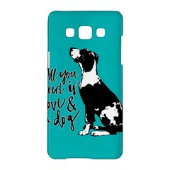 Dog person Samsung Galaxy A5 Hardshell Case
