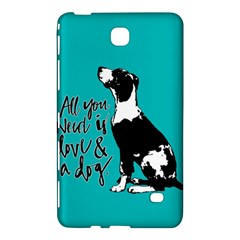 Dog person Samsung Galaxy Tab 4 (7 ) Hardshell Case