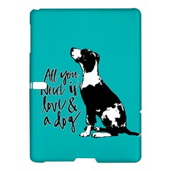 Dog person Samsung Galaxy Tab S (10.5 ) Hardshell Case