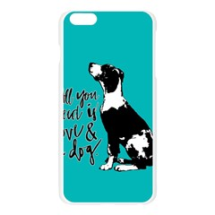 Dog person Apple Seamless iPhone 6 Plus/6S Plus Case (Transparent)