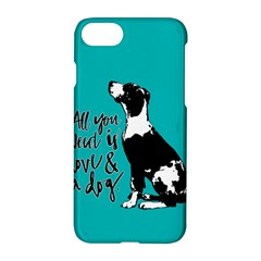 Dog person Apple iPhone 7 Hardshell Case