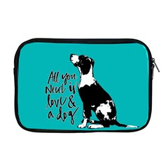 Dog person Apple MacBook Pro 17  Zipper Case