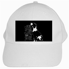 Dog person White Cap
