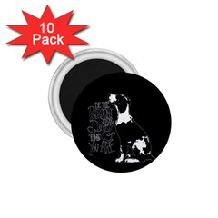 Dog person 1.75  Magnets (10 pack)