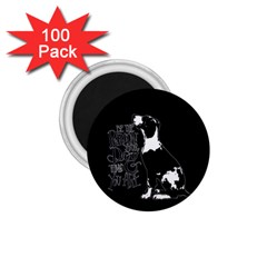 Dog person 1.75  Magnets (100 pack)