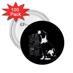 Dog person 2.25  Buttons (100 pack)