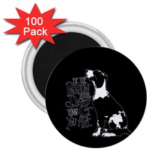 Dog person 2.25  Magnets (100 pack)