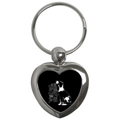 Dog person Key Chains (Heart)