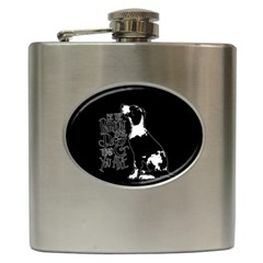 Dog person Hip Flask (6 oz)