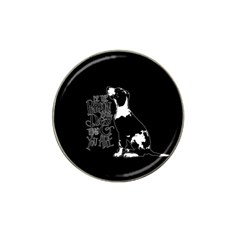 Dog person Hat Clip Ball Marker