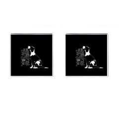 Dog person Cufflinks (Square)