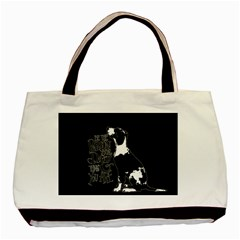 Dog person Basic Tote Bag (Two Sides)