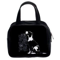 Dog person Classic Handbags (2 Sides)