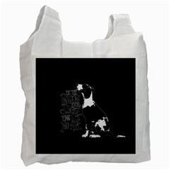 Dog person Recycle Bag (One Side)