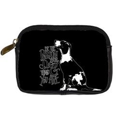 Dog person Digital Camera Cases