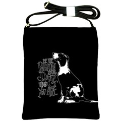 Dog person Shoulder Sling Bags