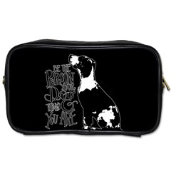Dog person Toiletries Bags 2-Side