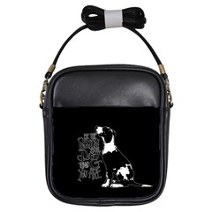 Dog person Girls Sling Bags