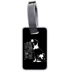 Dog person Luggage Tags (One Side)
