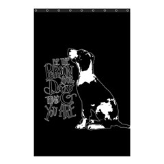 Dog person Shower Curtain 48  x 72  (Small)