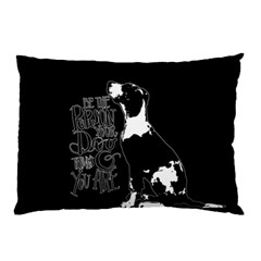 Dog person Pillow Case (Two Sides)