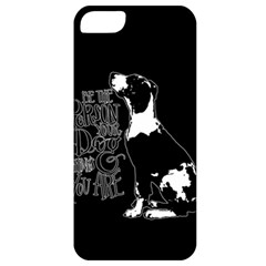 Dog person Apple iPhone 5 Classic Hardshell Case
