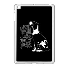 Dog person Apple iPad Mini Case (White)