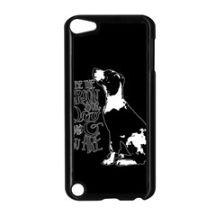 Dog person Apple iPod Touch 5 Case (Black)