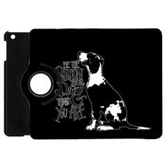 Dog person Apple iPad Mini Flip 360 Case