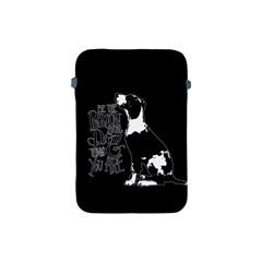 Dog person Apple iPad Mini Protective Soft Cases