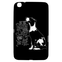 Dog person Samsung Galaxy Tab 3 (8 ) T3100 Hardshell Case