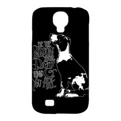 Dog person Samsung Galaxy S4 Classic Hardshell Case (PC+Silicone)