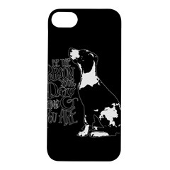 Dog person Apple iPhone 5S/ SE Hardshell Case