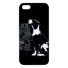 Dog person iPhone 5S/ SE Premium Hardshell Case