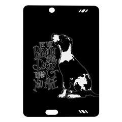 Dog person Amazon Kindle Fire HD (2013) Hardshell Case