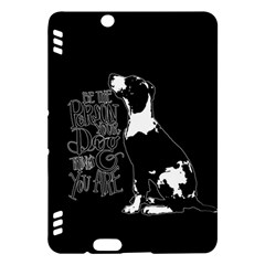Dog person Kindle Fire HDX Hardshell Case